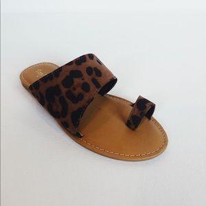 Cheetah sandals 👑